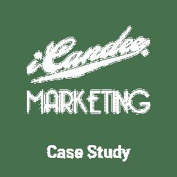 iCandee Marketing White Logo